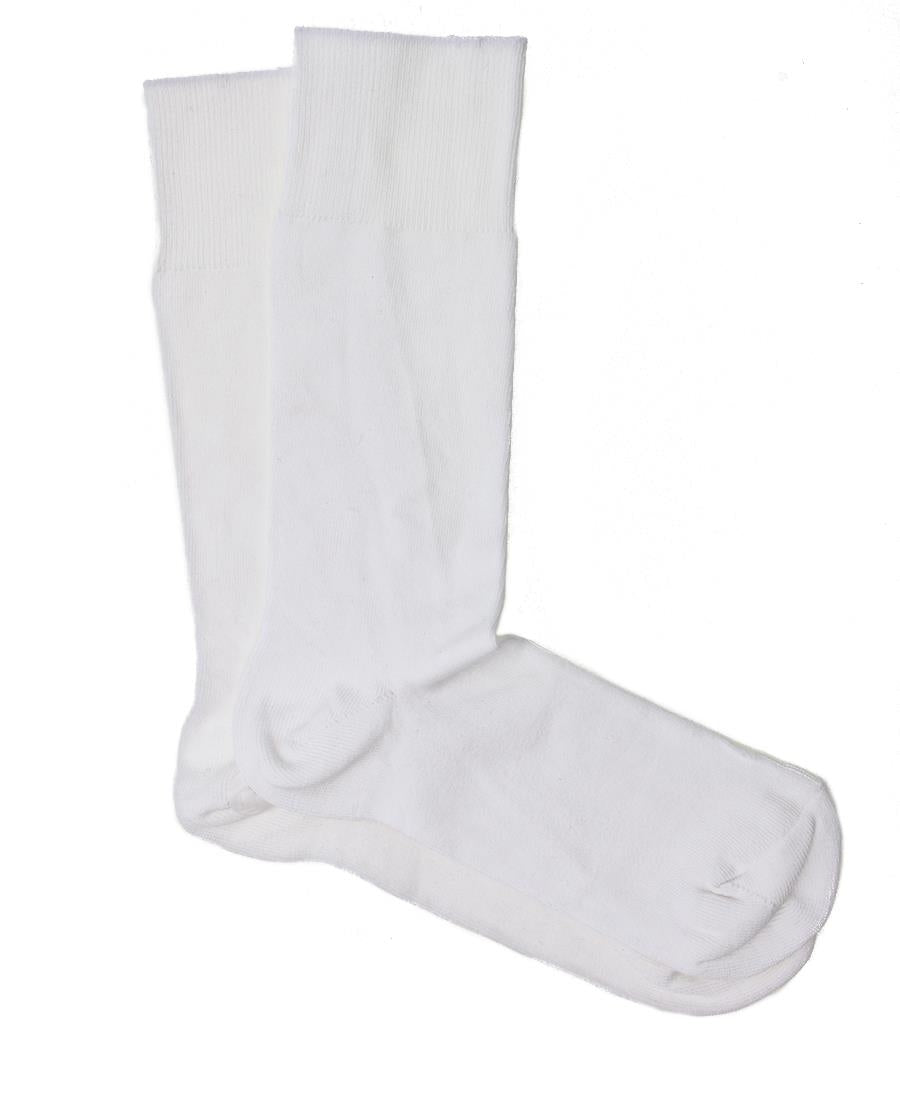 Pure Cotton Ankle Socks  - White