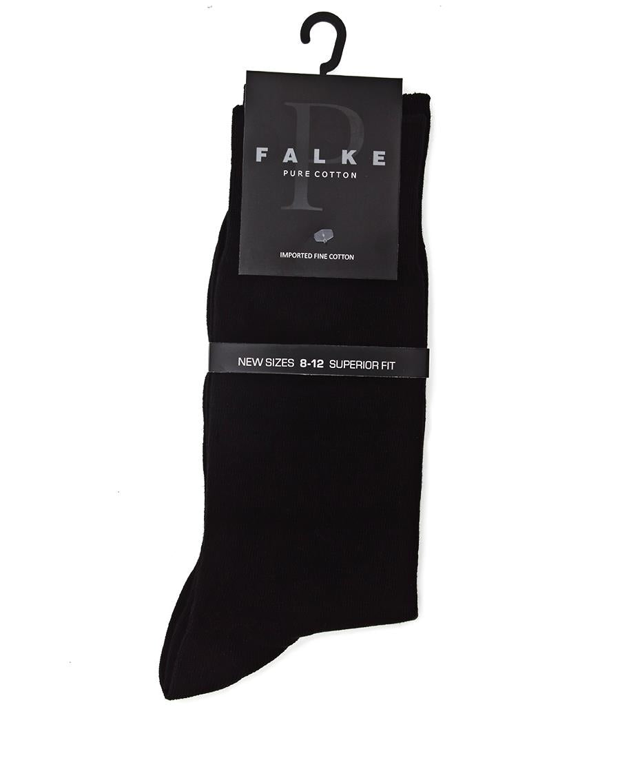 Pure Cotton Ankle Socks  - Black