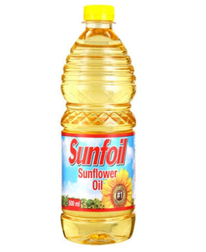 500ml Sunflower Oil - Yellow
