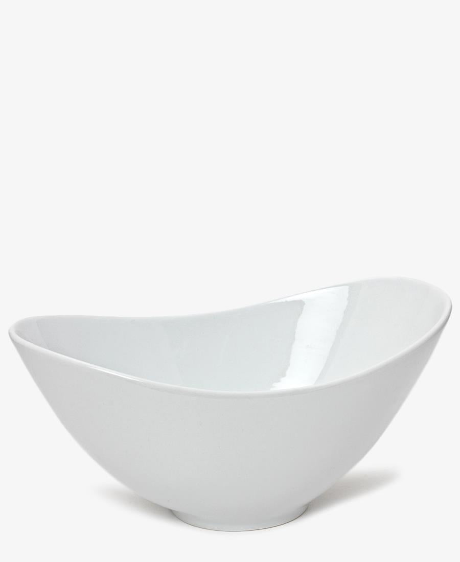 Eetrite 26cm Oval Salad Bowl - White