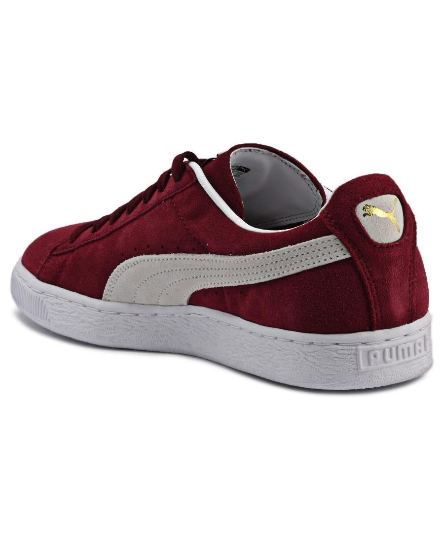 Suede Classic - Burgundy
