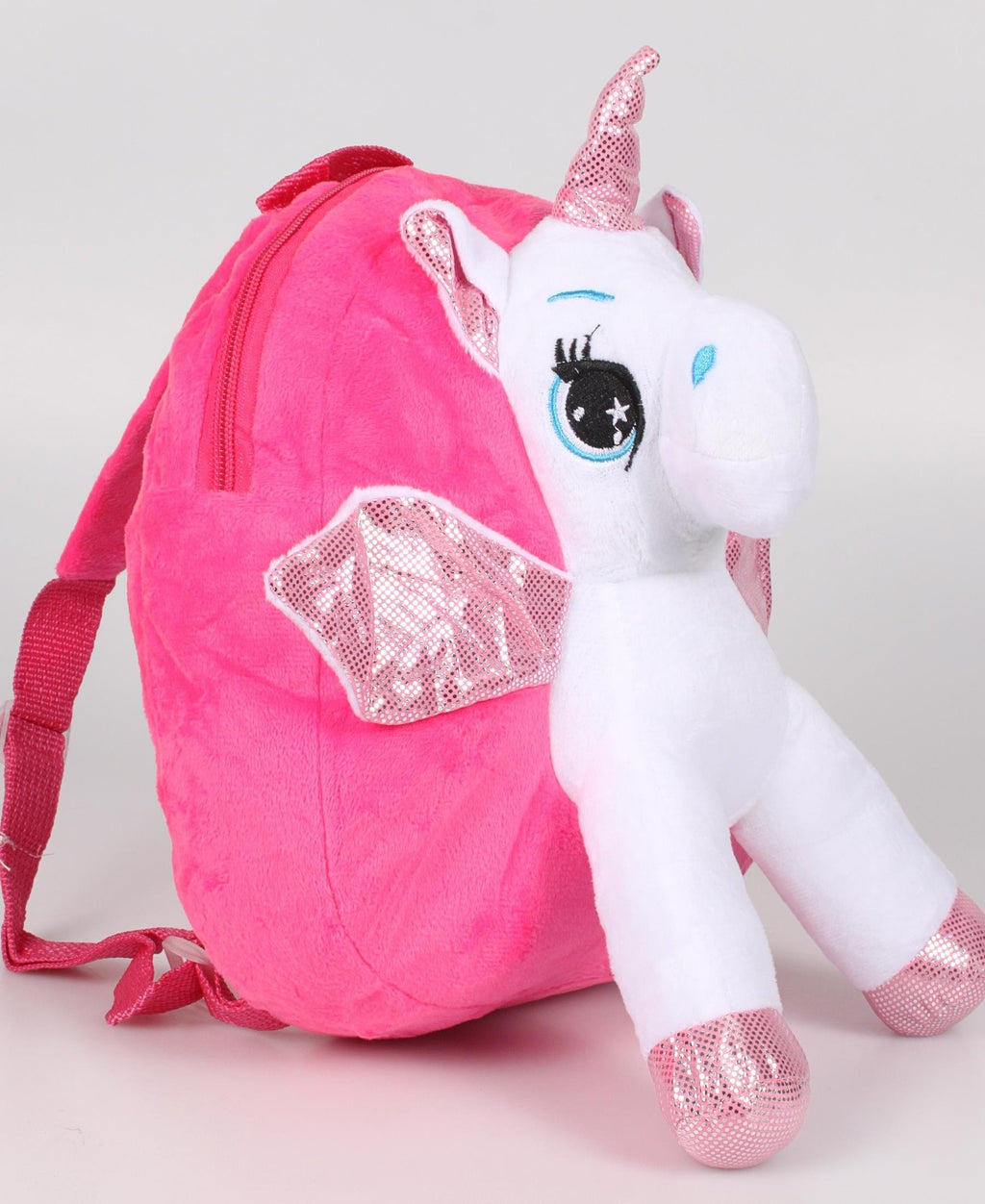 Girls Unicorn Backpack - Pink