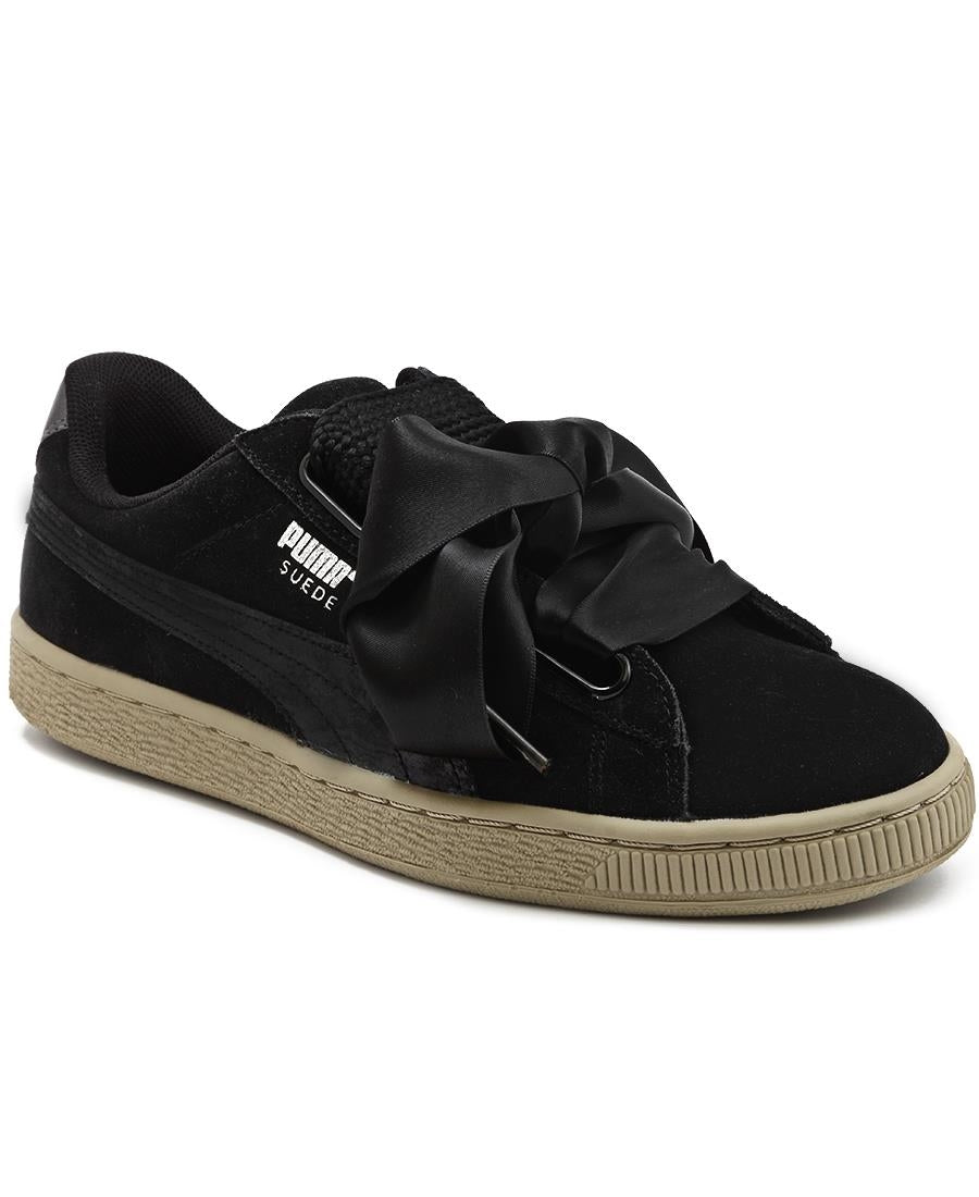 finest selection be691 06512 Suede Heart Safari - Black