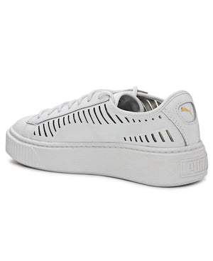Basket Platform Summer - White