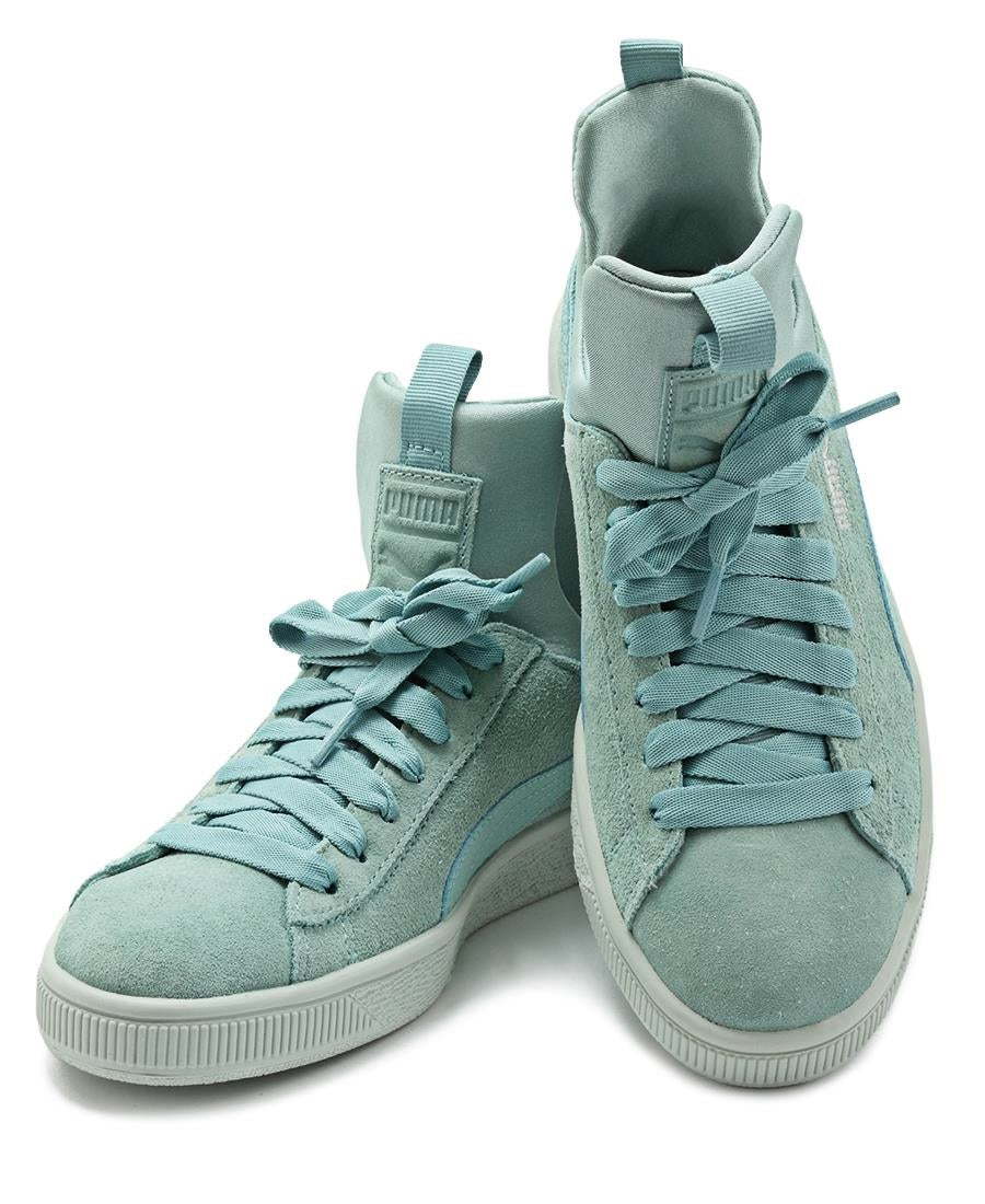 Suede Fierce - Blue