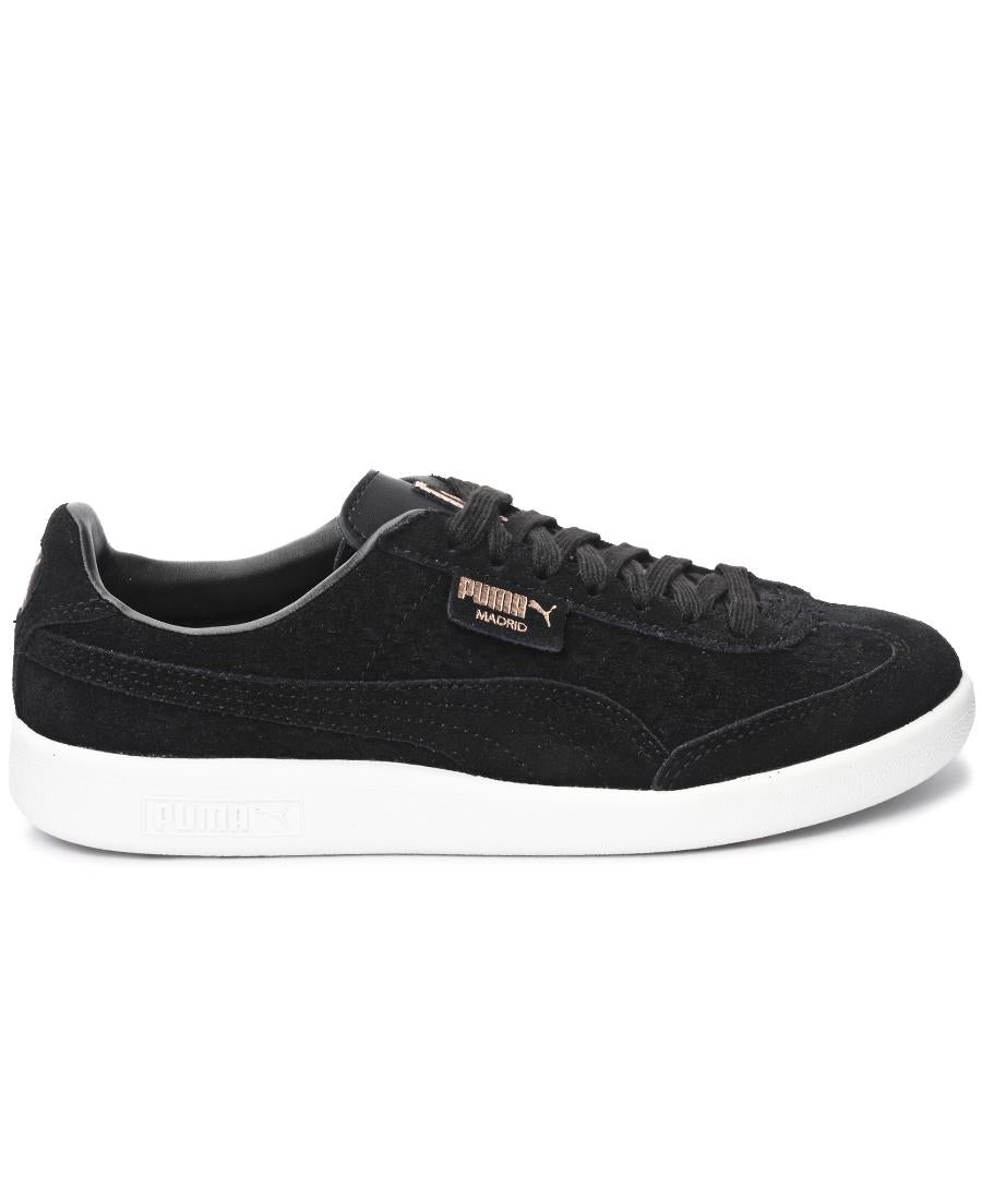 Madrid Perf Suede - Black