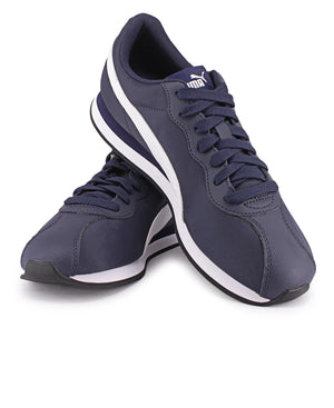 Men's Turin II NL Sneakers - Navy-White