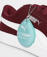 Ladies' Vikky V2 Sneakers - Burgundy