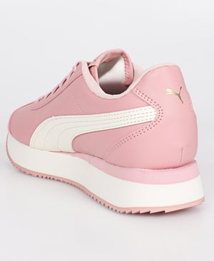 Ladies' Turino Stacked Sneakers - Pink