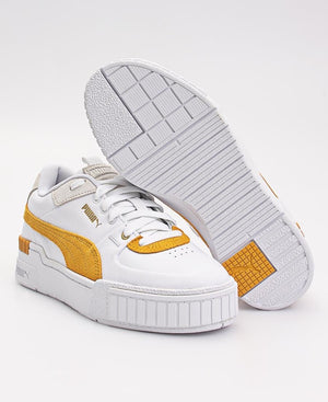 Ladies' Cali Sport Heritage Sneakers - White