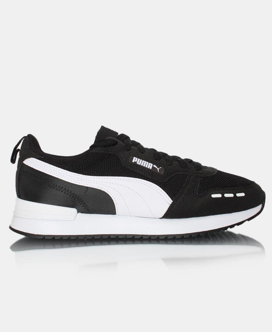 Men's Puma R78 Sneaker - Black