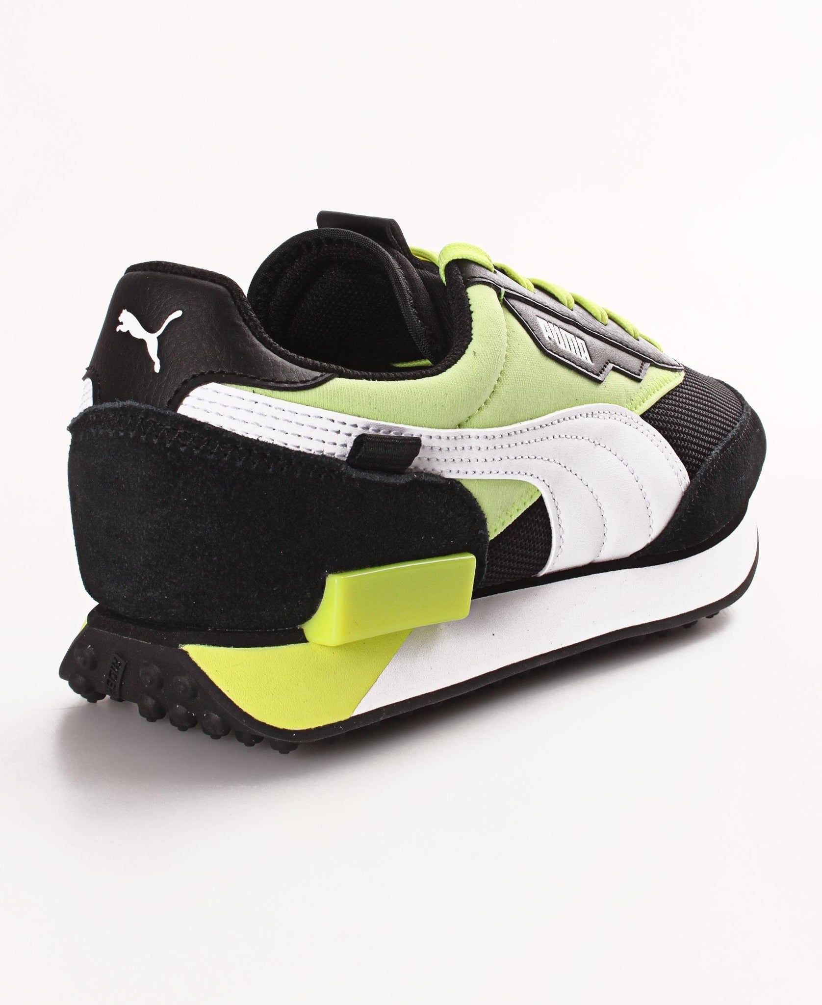 Men's Puma Future Rider Neon Play Sneakers - Black