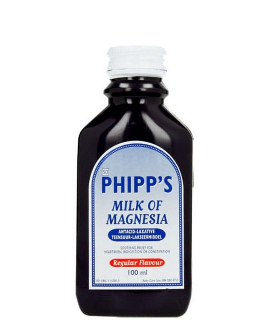 Phipp`S Milk Of Magnesia 100ml - Clear