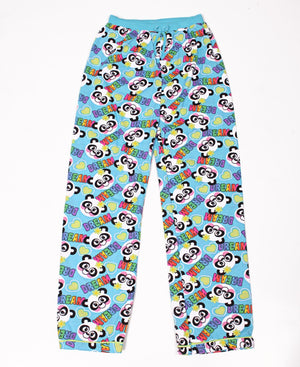 Girls Printed Pyjama Set - Blue