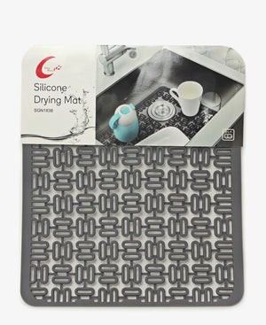 Table Pride Silicone Drying Mat - Grey