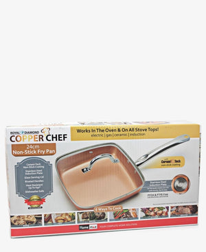 24Cm Non-Stick Pan - Orange