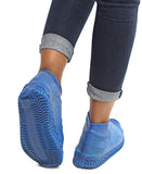 Waterproof Non-Slip Shoe Covers - Blue