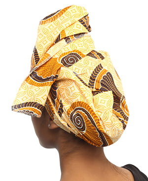 Ethnic Doek - Brown