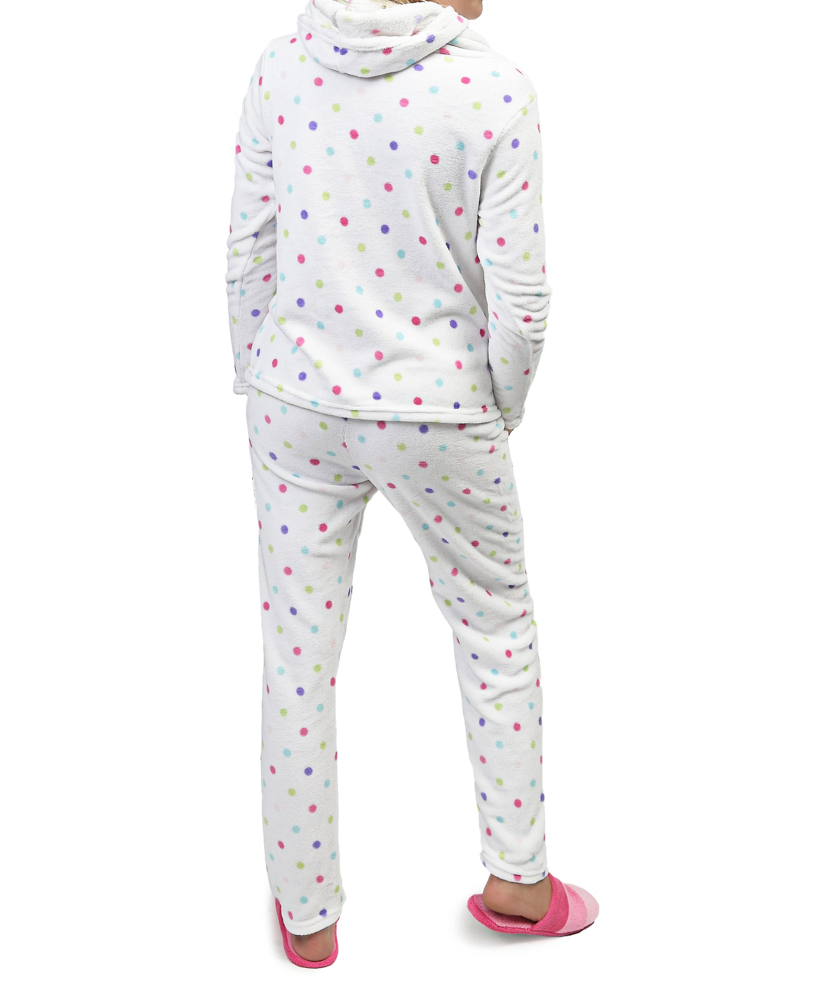 Girls 2 Piece Pyjamas - White