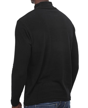 Long Sleeve Turtleneck - Black