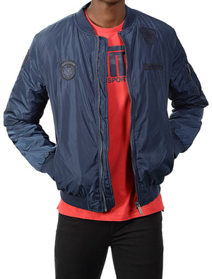 Quito Bomber Jacket - Navy