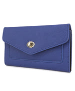 Flap Wallet - Blue