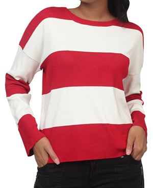Knitted Jersey - Red