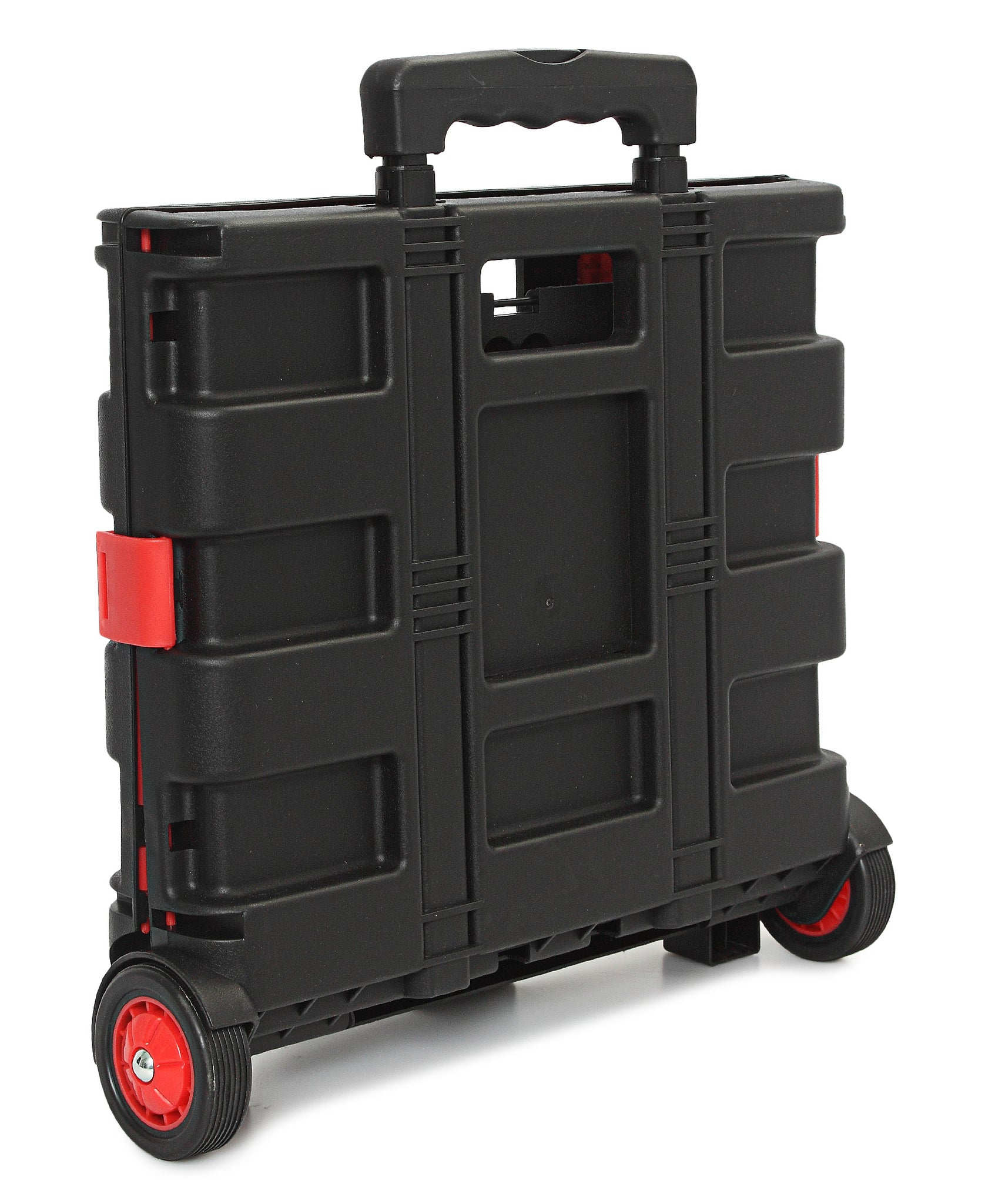 Foldable Trolley Cart - Red