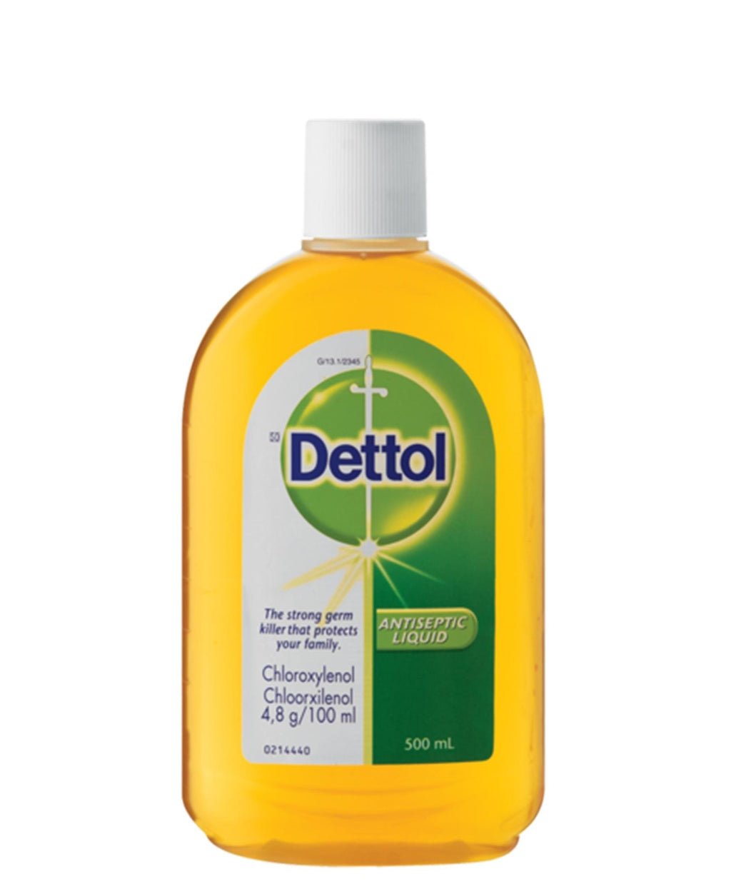 Dettol Antiseptic Liquid 500ml - Green