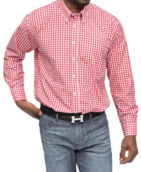 Modern Fit Shirt - Red