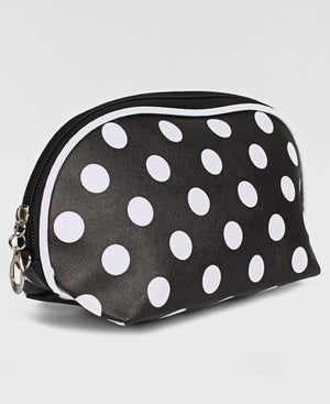 Cosmetic Bag - Black-White