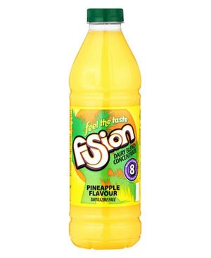 Fusion Dairy Blend 1L Pineapple  - Yellow