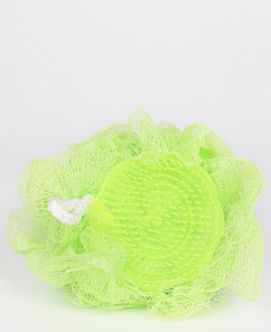 Body Scrubber With Massager - Green
