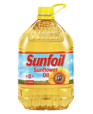 Sunfoil Oil 5L - Yellow