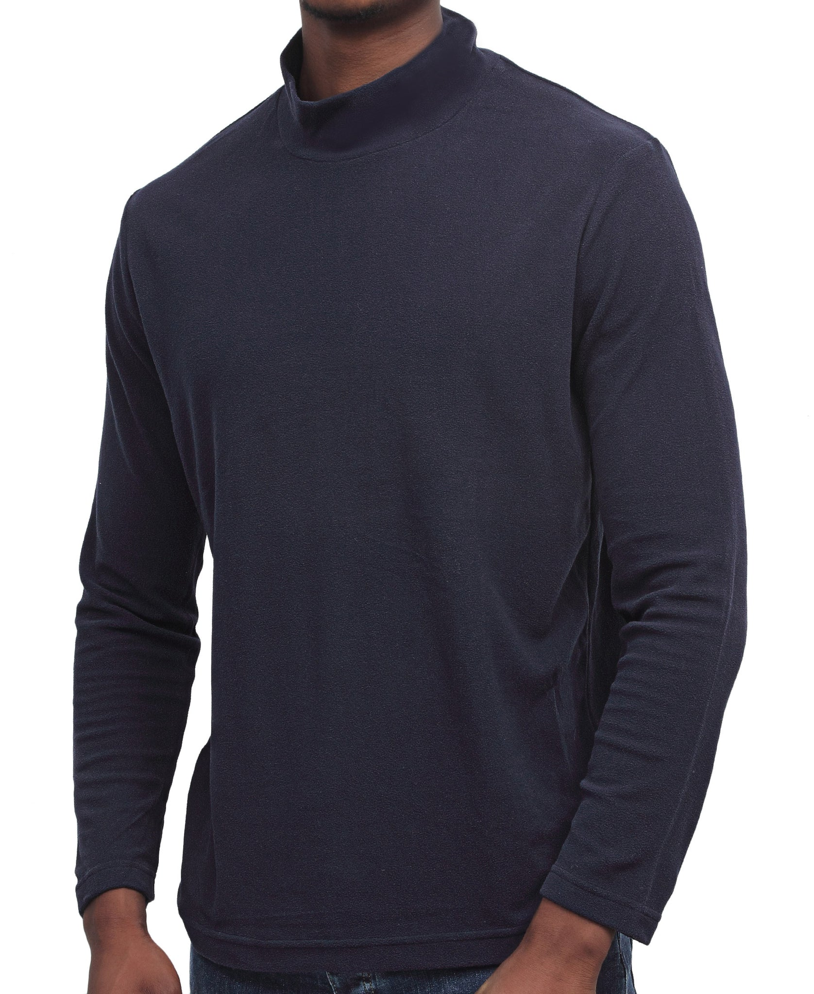 Long Sleeve Turtleneck - Navy