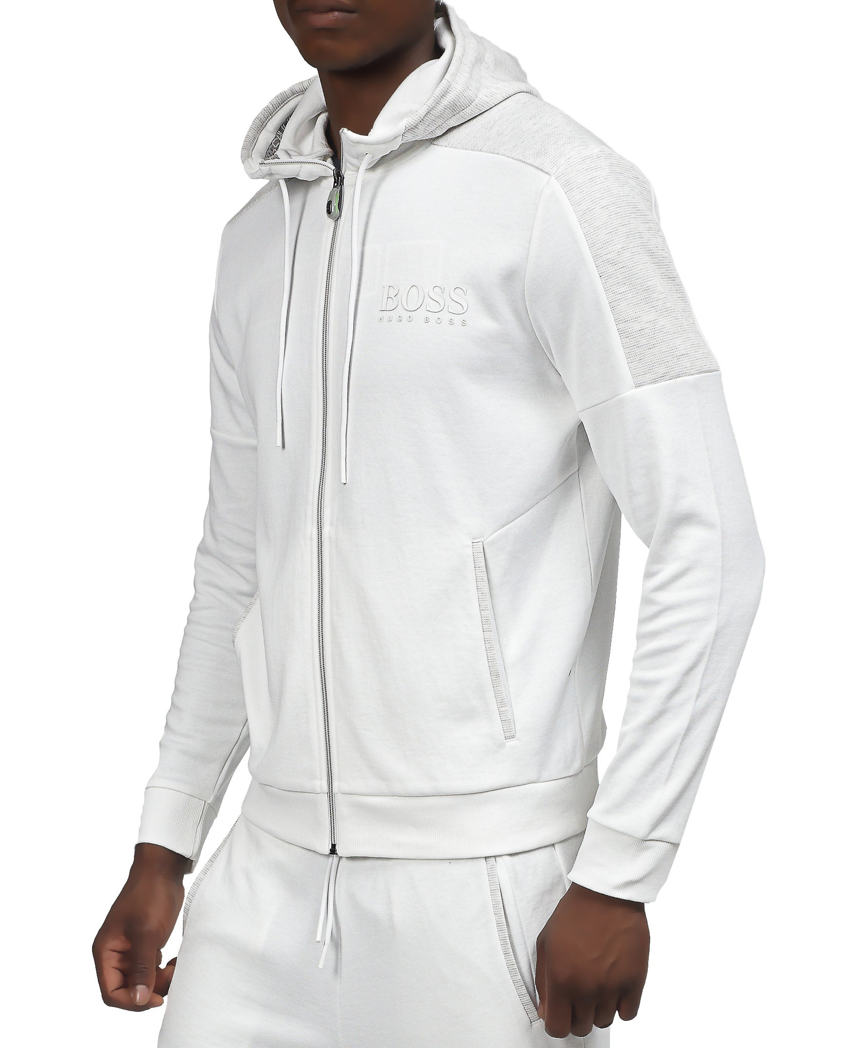 Regular Fit Hugo Boss Sweatshirt - White