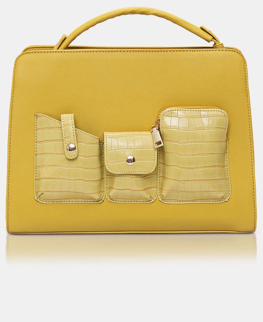 Tote Bag - Yellow