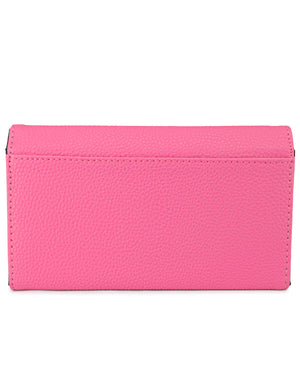 Flap Wallet - Fuschia