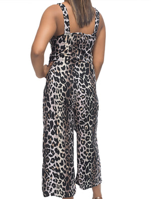 Jumpsuit - Brown