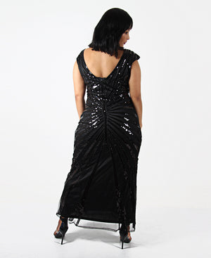 Evening Dress - Black