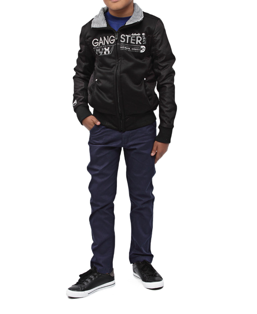 Boys Sport Jacket - Black