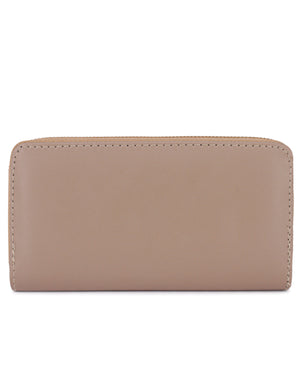 Zip Around Wallet - Taupe