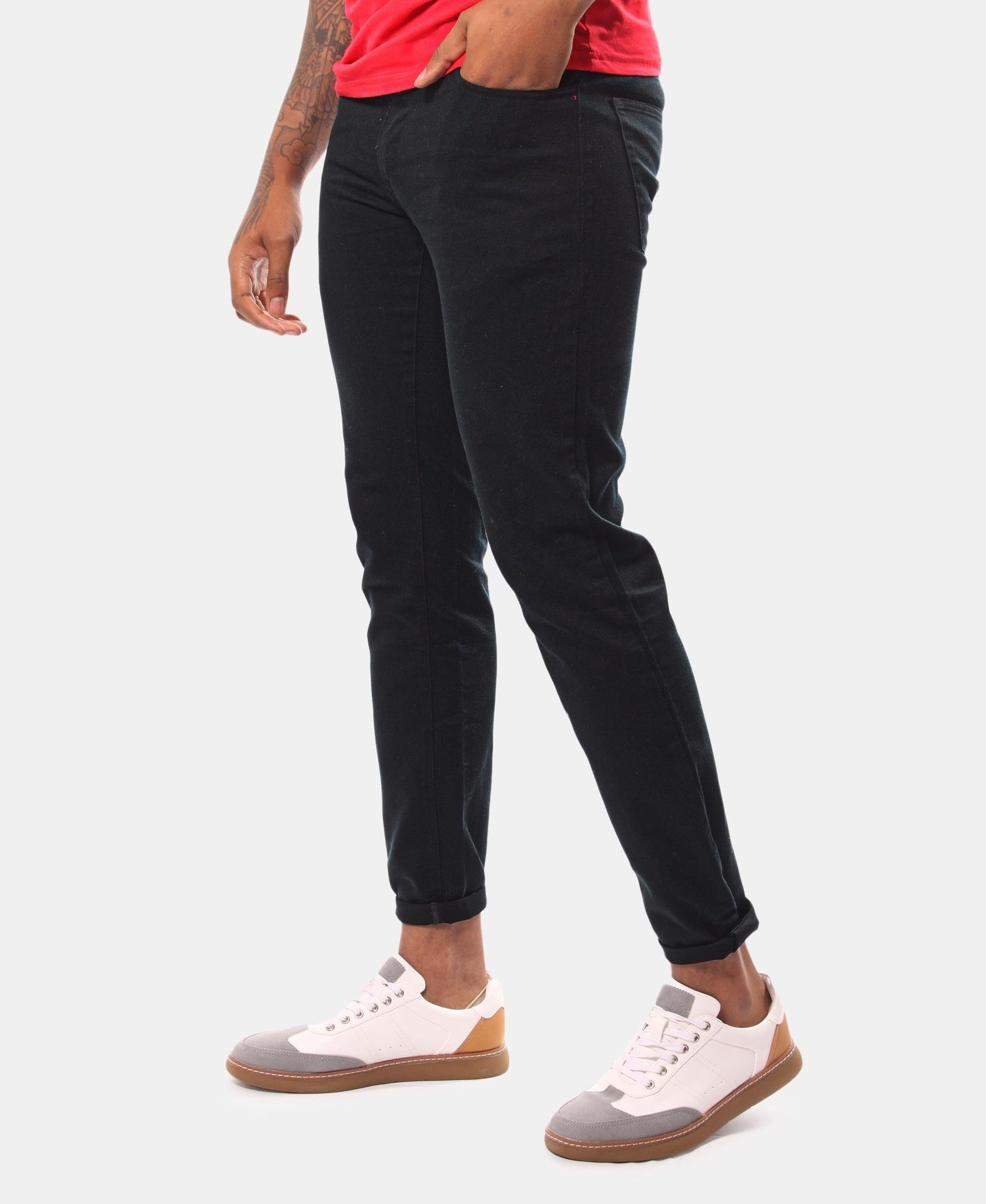 Men's Casual Pants - Black