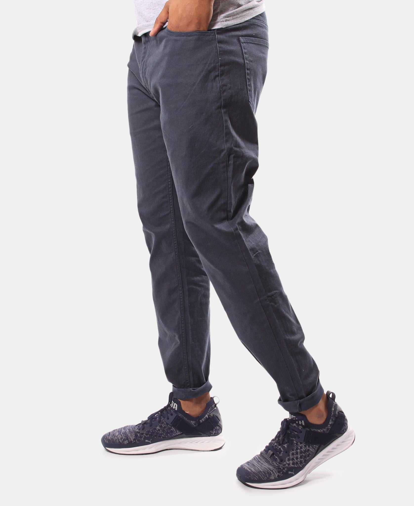 Men's Casual Pants - Navy