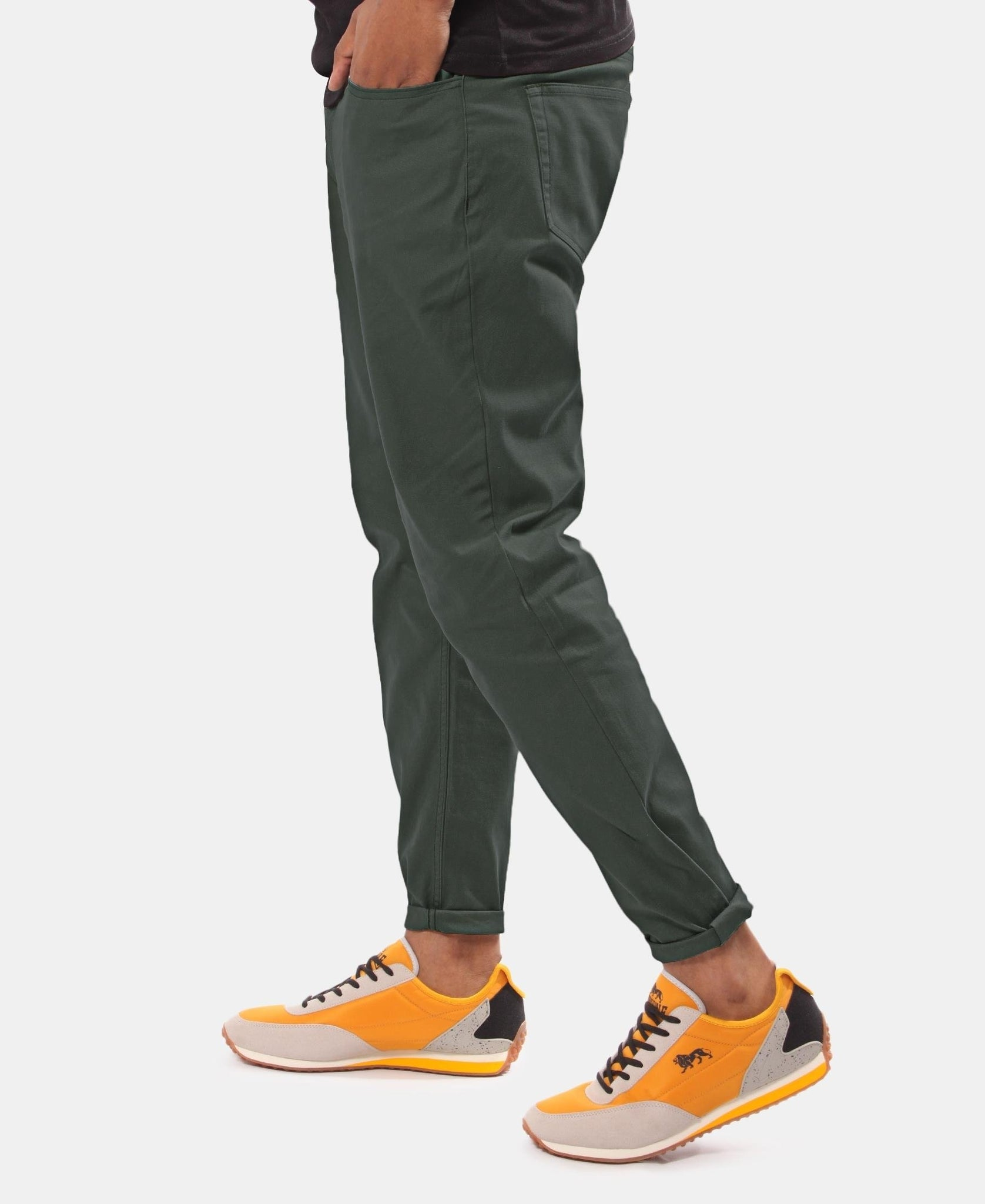 Men's Casual Pants - Dark Green