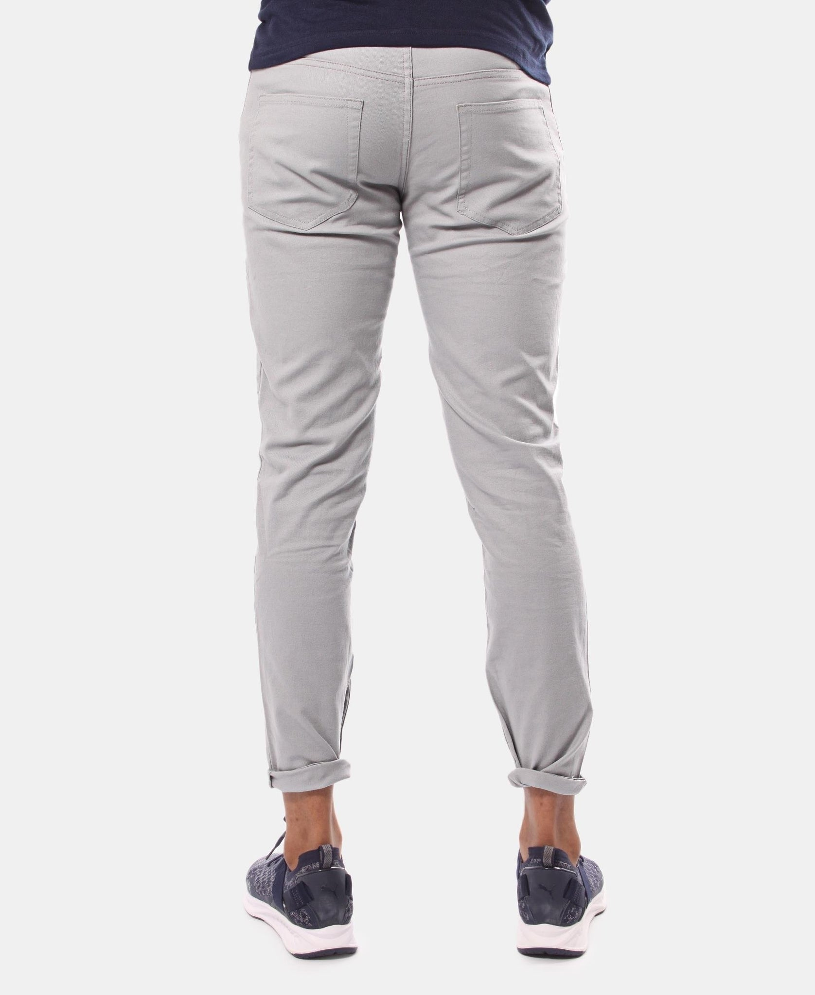 Men's Casual Pants - Light Grey