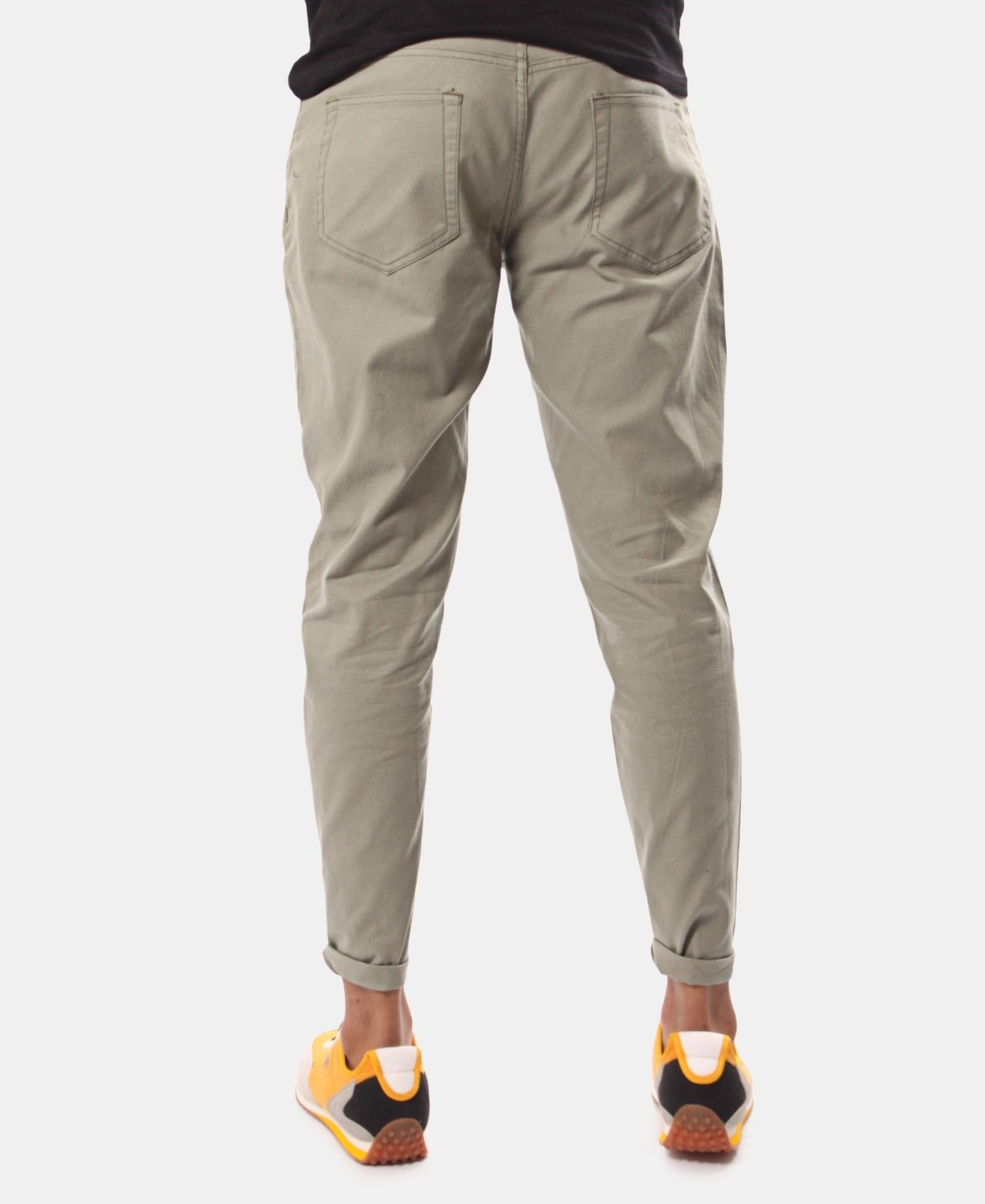 Men's Casual Pants - Light Green