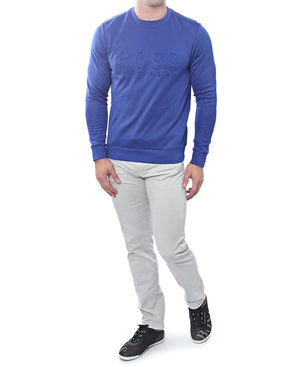 Slim Fit Sweater - Blue