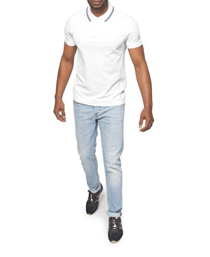 Slim Fit Hugo Boss Golfer - White