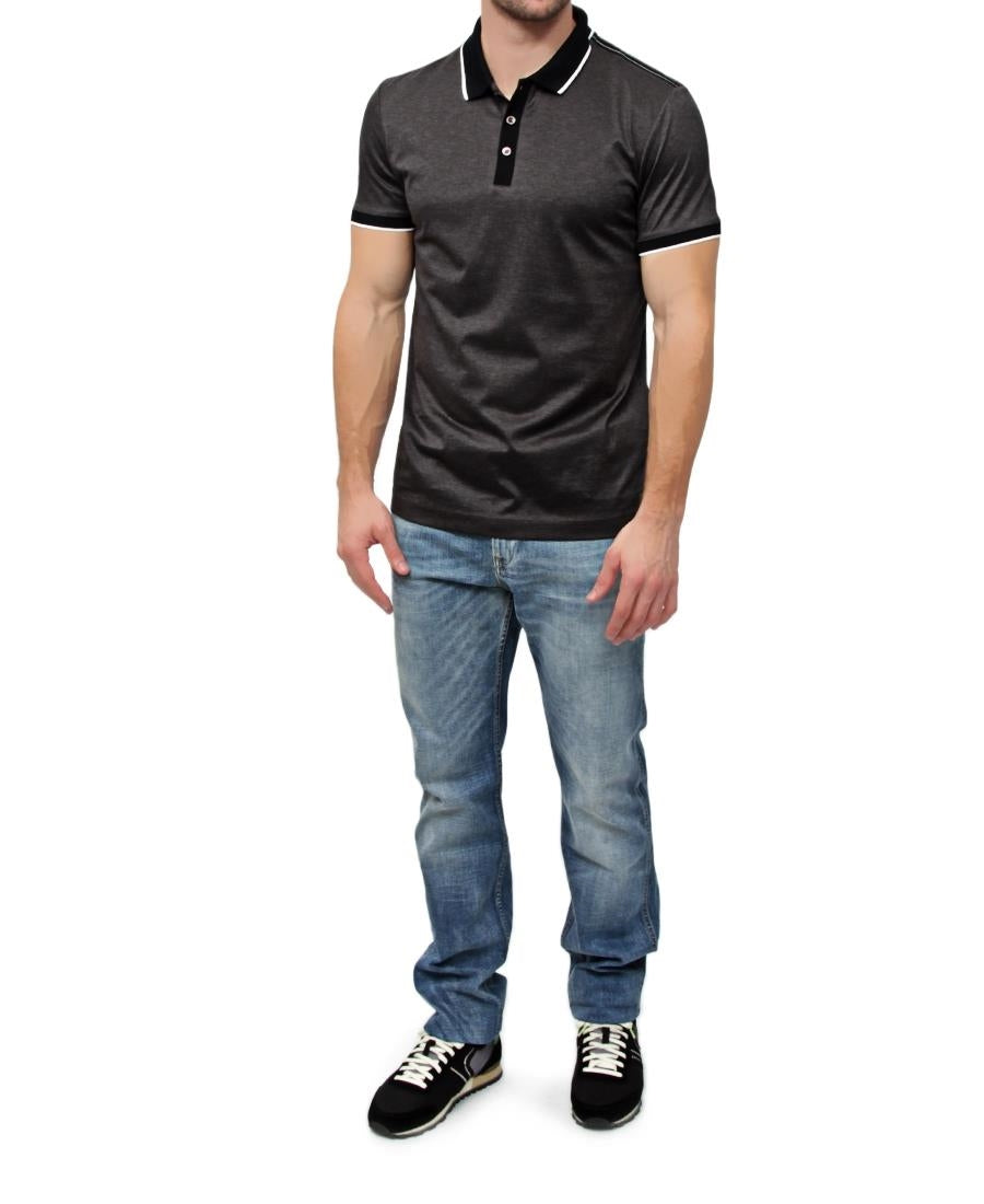 Slim Fit Hugo Boss Golfer - Charcoal